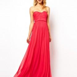 Zarif Kırmızı Balo Elbisesi Modelleri