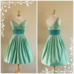 Zarif Vintage Elbise Modelleri