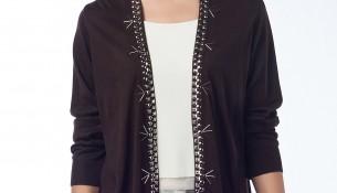 İşlemeli Hırka Anka Maya Bluz ve Hırka Modelleri