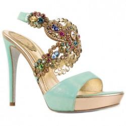 Şık 2014 Taşlı Ayakkabı Modelleri