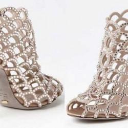 2014 Taşlı Ayakkabı Modelleri