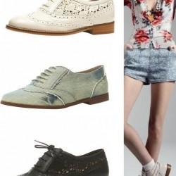 Dantelli Oxford Ayakkabı Modelleri