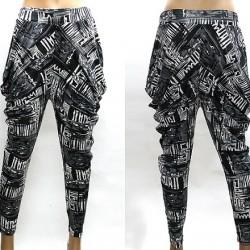 Desenli Şalvar Pantolon Modelleri