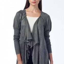 Gri Salaş Hırka Anka Maya Bluz ve Hırka Modelleri