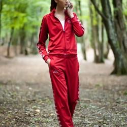 Kırmızı Eşofman Kappa Spor Ürünleri