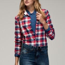 Kareli Gömlek Yeni Sezon Lacoste Modelleri
