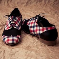-Kareli Oxford Ayakkabı Modelleri
