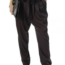Koyu Renkli Şalvar Pantolon Modelleri