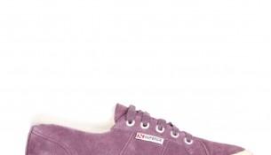 Lila Renkli Superga Bayan Ayakkabı Modelleri
