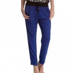 Mavi Şalvar Pantolon Modelleri