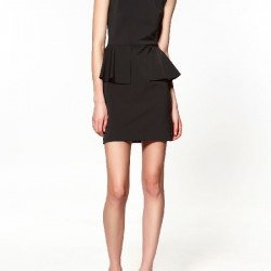 Mini KıSA Siyah Zara Elbise Modelleri