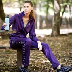 Mor Eşofman Kappa Spor Ürünleri