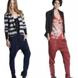 Renkli Şalvar Pantolon Modelleri