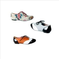 Renkli Oxford Ayakkabı Modelleri