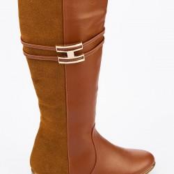 Süet Yeni Çizme Modelleri