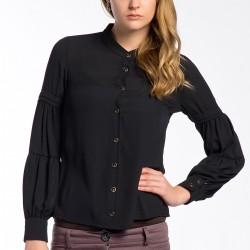 Siyah Gömlek Ayris Yeni Sezon Modelleri