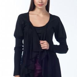 Siyah Salaş Hırka Anka Maya Bluz ve Hırka Modelleri