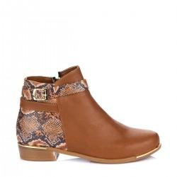 Taba Rengi Bot Fox Shoes Ayakkabı Modelleri