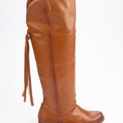 Taba Rengi Yeni Çizme Modelleri