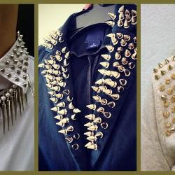 Yakası Zımba Detaylı Gömlek Modelleri