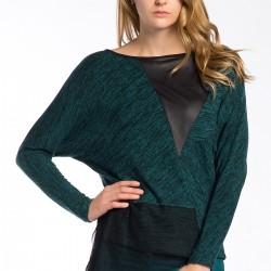Yeşil Bluz Ayris Yeni Sezon Modelleri