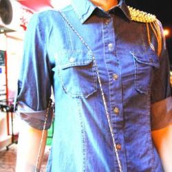Zarif Kot Zımba Detaylı Gömlek Modelleri