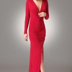 Dekolteli Modagram Elbise Modelleri