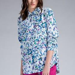 Desenli Bluz Yeni Sezon Twist Modelleri