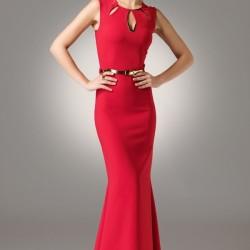 Kırmızı Modagram Elbise Modelleri