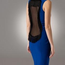 Sırtı Dekolteli Modagram Elbise Modelleri
