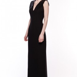 Siyah Elbise Songül Bacacı Yeni Modelleri