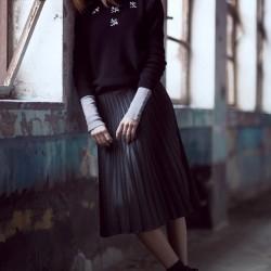 Siyah Kazak Dilvin Yeni Sezon Modelleri