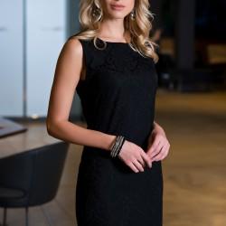 Siyah Kolsuz Elbise Yeni Sezon Pretty Mark Modelleri
