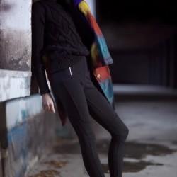 Siyah Pantolon Dilvin Yeni Sezon Modelleri