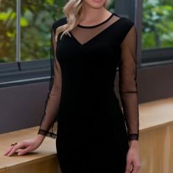Tül Detaylı Elbise Yeni Sezon Pretty Mark Modelleri