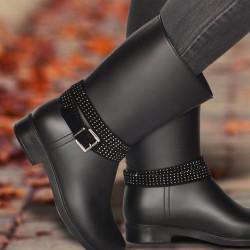 Taş Süslemeli Marjin Ayakkabı Modelleri