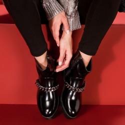Zincir Detaylı Marjin Ayakkabı Modelleri