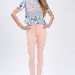 Açık Pembe Pantolon Topshop 2015 Modelleri