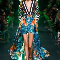 Dekolteli Elbise Elie Saab 2015 İlkbahar - Yaz Modelleri