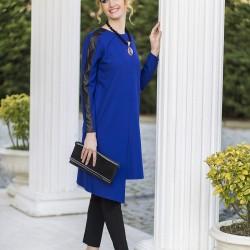 Deri Detaylı Yeni Sezon Tuay Karaca Tunik Modelleri