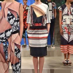 Etnik Desenli Elbise Clover Canyon 2015 İlkbahar-Yaz Modelleri