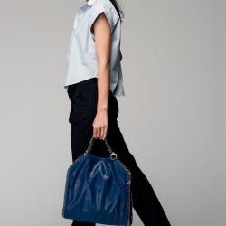 Koyu Mavi 2015 Stella McCartney Çanta Modelleri
