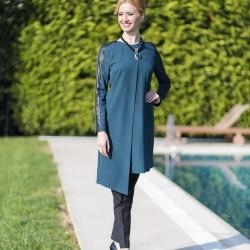 Petrol Yeşili Yeni Sezon Tuay Karaca Tunik Modelleri