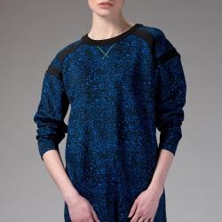 Saks Mavisi Tunik Yeni Sezon Roman Modelleri