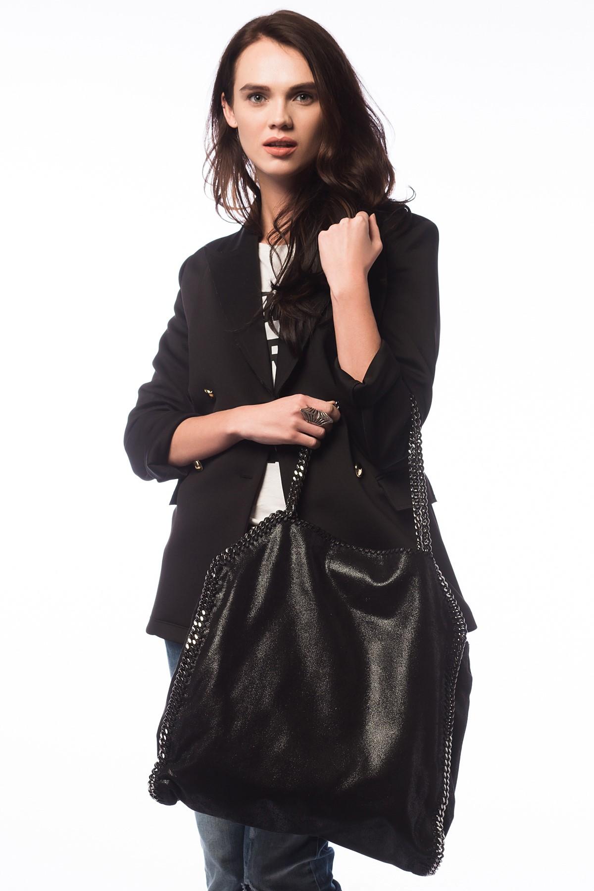 Siyah 2015 Stella McCartney Çanta Modelleri