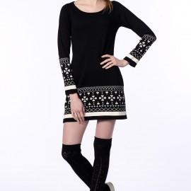 Siyah Elbise 2015 Dilek Şahin Modelleri
