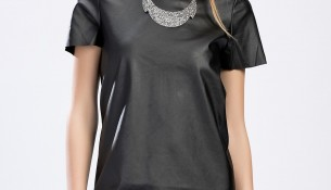 Siyah Mini Elbise Topshop 2015 Modelleri