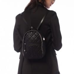 Siyah Sırt Çantası 2015 Stella McCartney Çanta Modelleri