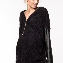 Siyah Tunik 2015 Hamile Giyim Modelleri