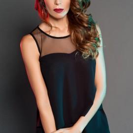 Tül Detaylı Bluz 2015 Sense Modelleri